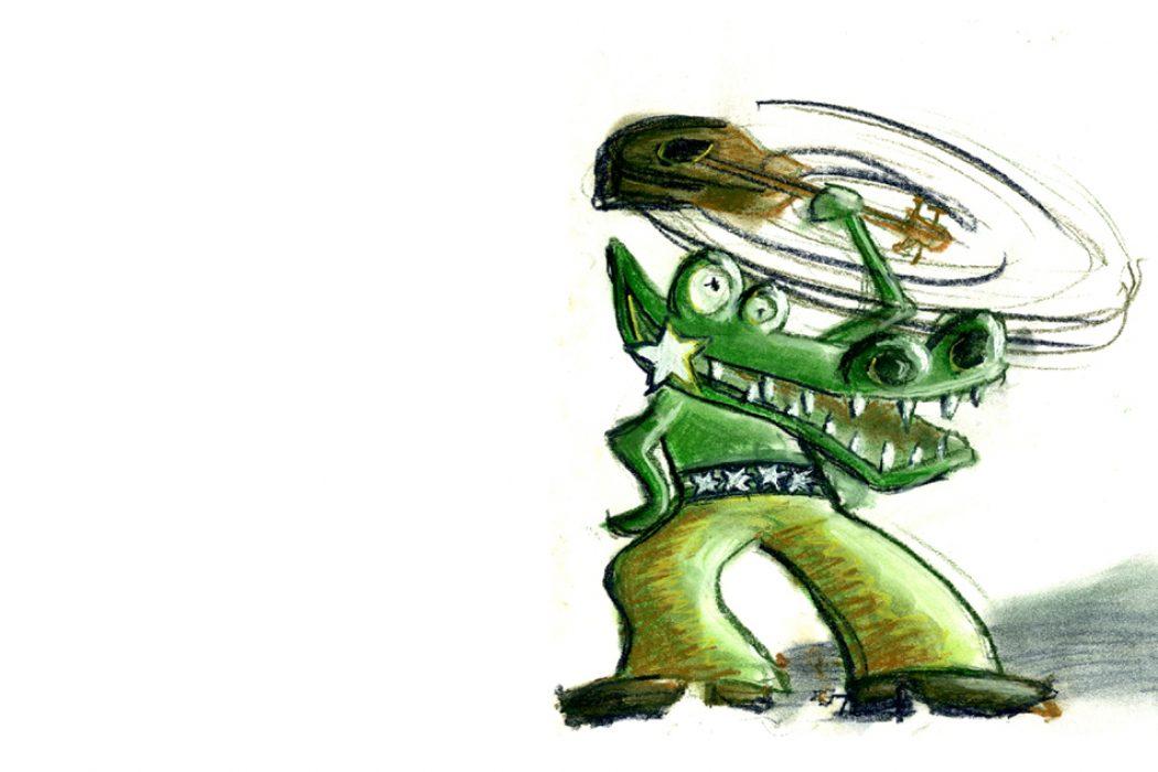 Rockin' Crocodile